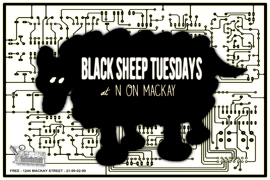 Black Sheep Tuesdays front low