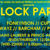 Cuft @ Block Party (MEGxMURAL)
