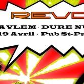 Revolt w/ SAVLEM + DURE NUIT