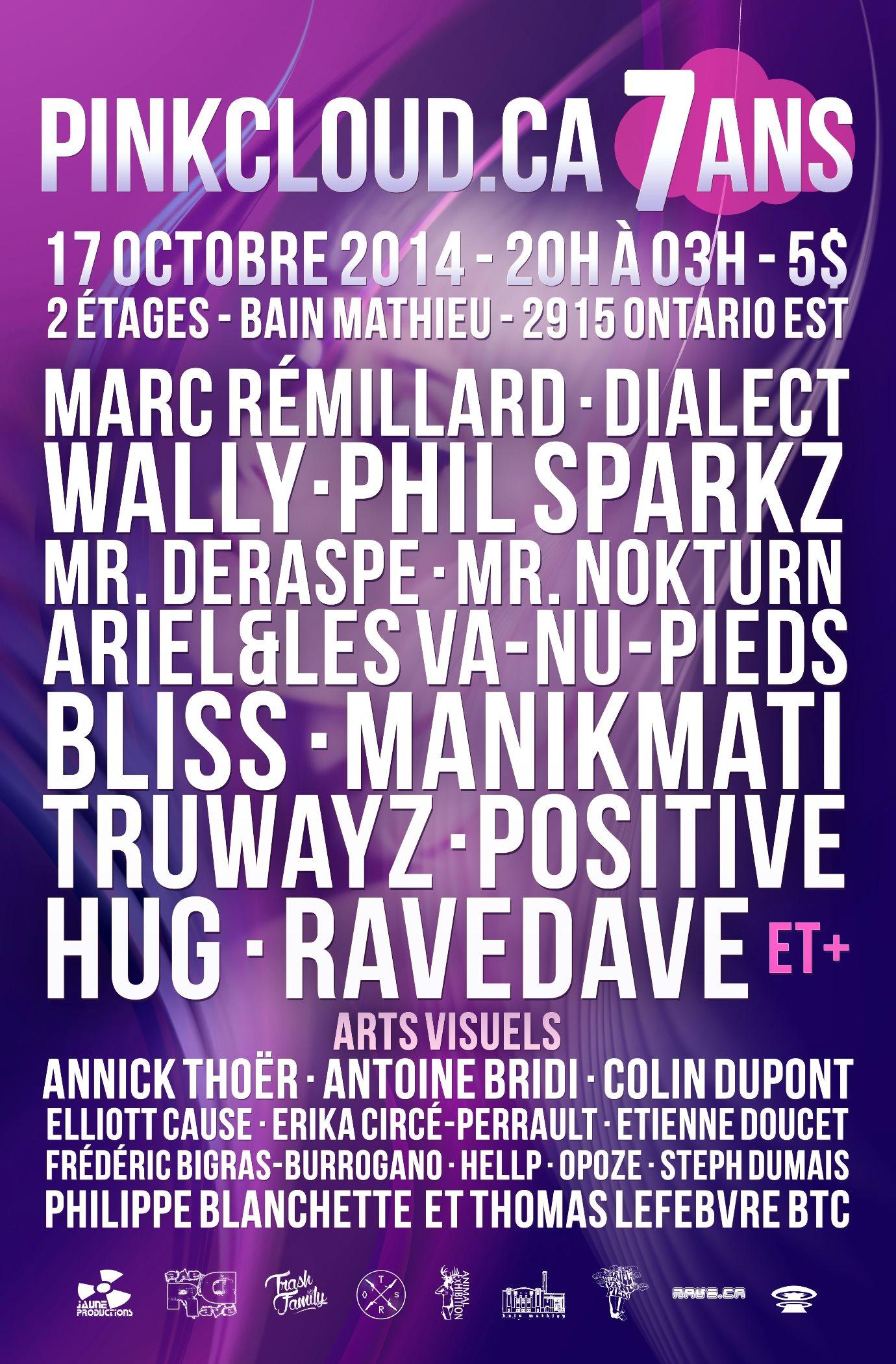 7 ans - pinkcloud - poster